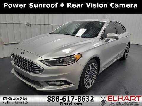 2018 Ford Fusion for sale at Elhart Automotive Campus in Holland MI