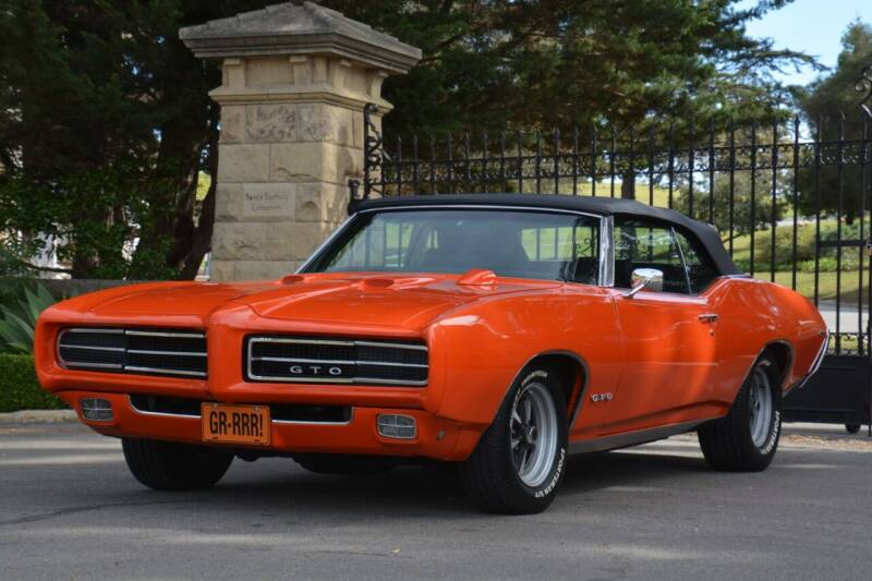1969 Pontiac GTO for sale at Milpas Motors in Santa Barbara CA