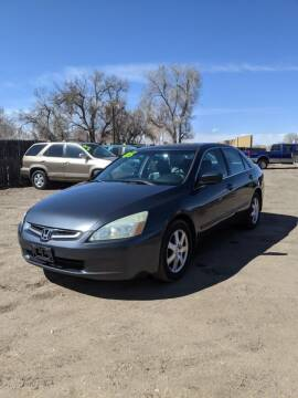 2005 Honda Accord for sale at HORSEPOWER AUTO BROKERS in Fort Collins CO