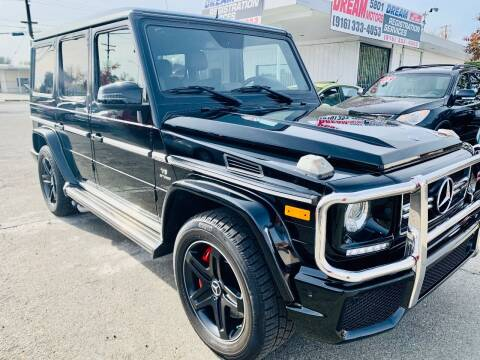 2016 Mercedes-Benz G-Class for sale at Dream Motors in Sacramento CA