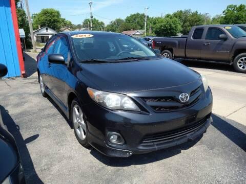 2013 Toyota Corolla for sale at Eagle Motors in Hamilton OH