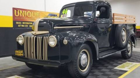 1946 Ford F-100 for sale at UNIQUE SPECIALTY & CLASSICS in Mankato MN