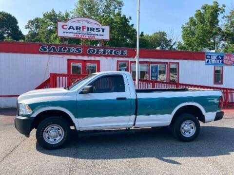 2015 RAM Ram Pickup 2500 for sale at CARFIRST ABERDEEN in Aberdeen MD