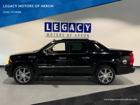2007 Cadillac Escalade EXT for sale at LEGACY MOTORS OF AKRON in Akron OH