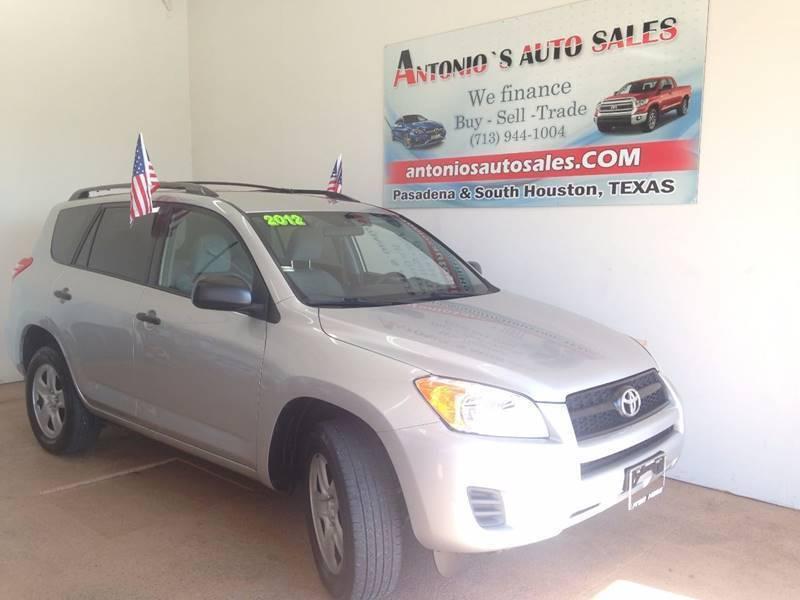2012 Toyota RAV4 for sale at Antonio's Auto Sales - Antonio`s  2206 in Pasadena TX