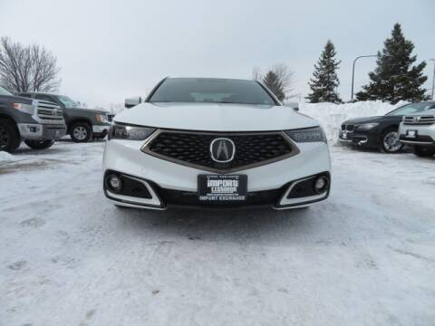 2018 Acura TLX for sale at Import Exchange in Mokena IL