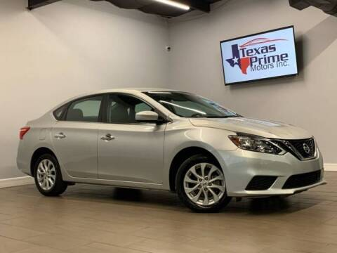 2019 Nissan Sentra for sale at Texas Prime Motors in Houston TX
