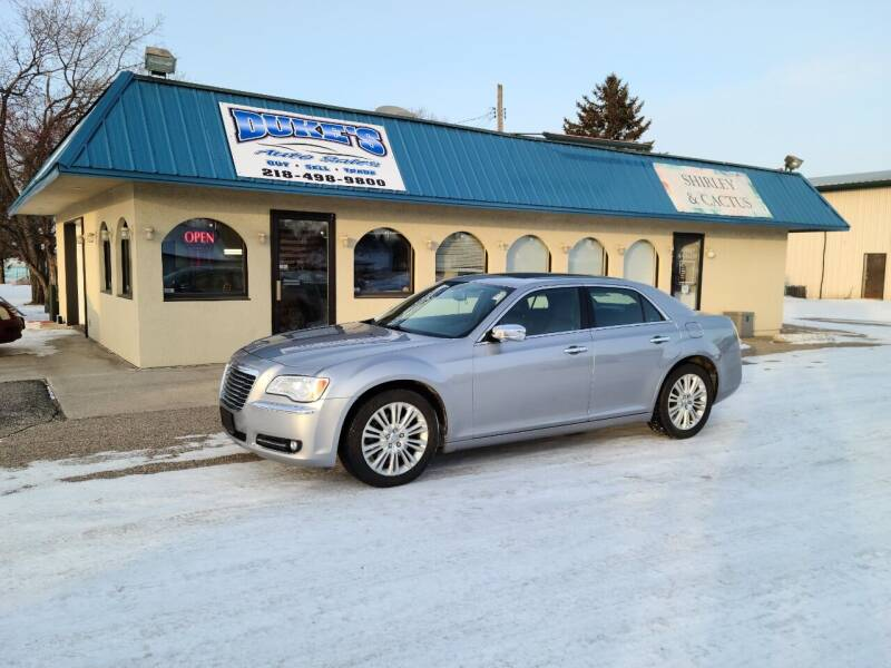 2013 Chrysler 300 for sale at Dukes Auto Sales in Glyndon MN