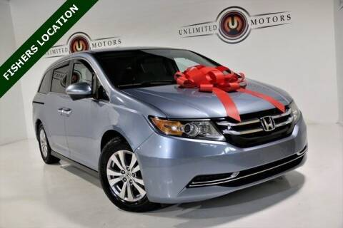 2014 Honda Odyssey for sale at Unlimited Motors in Fishers IN