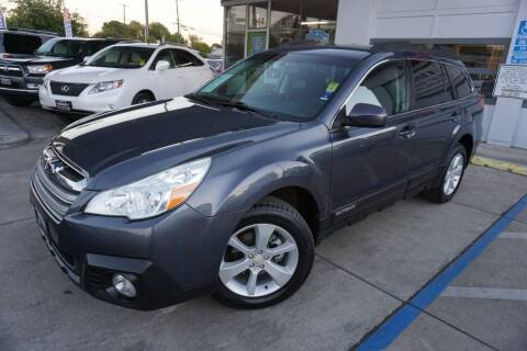 2014 Subaru Outback for sale at Industry Motors in Sacramento CA