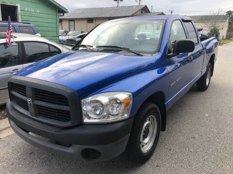 2007 Dodge Ram Pickup 1500 for sale at Castagna Auto Sales LLC in Saint Augustine FL