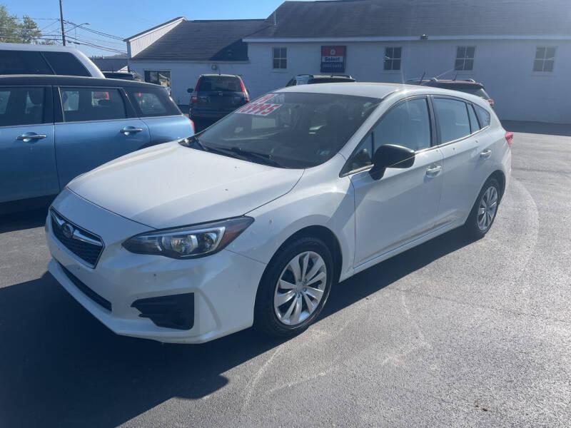 2019 Subaru Impreza for sale at Chilson-Wilcox Inc Lawrenceville in Lawrenceville PA
