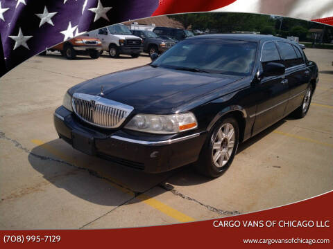 2007 Lincoln Town Car for sale at Cargo Vans of Chicago LLC in Mokena IL