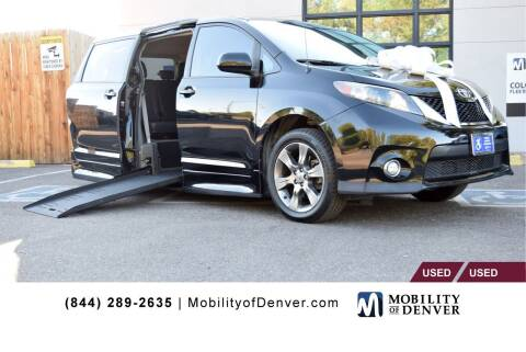 2011 Toyota Sienna for sale at CO Fleet & Mobility in Denver CO