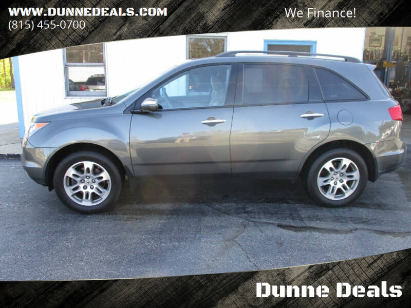 2008 Acura MDX for sale at Dunne Deals in Crystal Lake IL