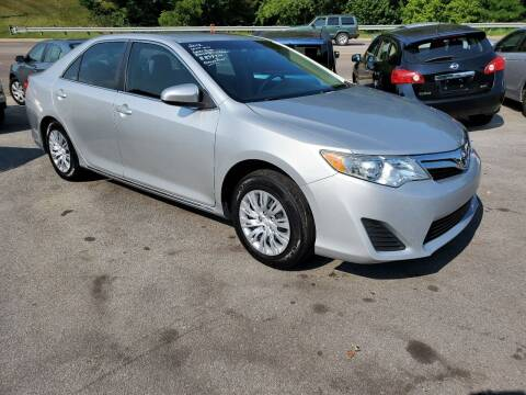 2012 Toyota Camry for sale at DISCOUNT AUTO SALES in Johnson City TN