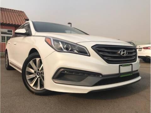 2015 Hyundai Sonata for sale at MADERA CAR CONNECTION in Madera CA