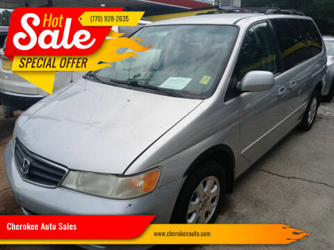 2004 Honda Odyssey for sale at Cherokee Auto Sales in Acworth GA