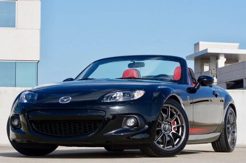 2015 Mazda MX-5 Miata for sale at JD MOTORS in Austin TX