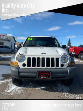 2005 Jeep Liberty for sale at Quality Auto City Inc. in Laramie WY