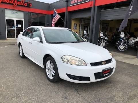 2013 Chevrolet Impala for sale at Goodfella's  Motor Company in Tacoma WA