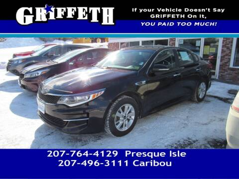 2016 Kia Optima for sale at Griffeth Mitsubishi - Pre-owned in Caribou ME