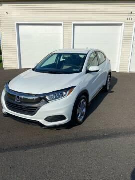 2019 Honda HR-V for sale at Interstate Fleet Inc. Auto Sales in Colmar PA