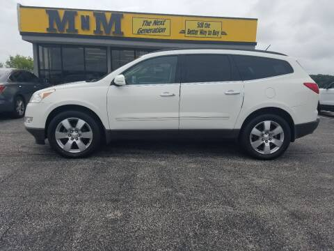 2012 Chevrolet Traverse for sale at MnM The Next Generation in Jefferson City MO