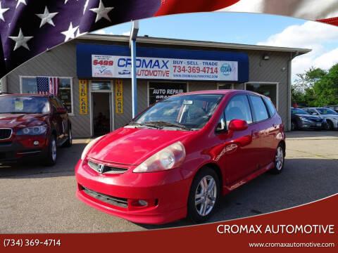 2007 Honda Fit for sale at Cromax Automotive in Ann Arbor MI