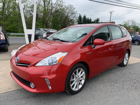 2013 Toyota Prius v for sale at Sam's Auto in Akron PA
