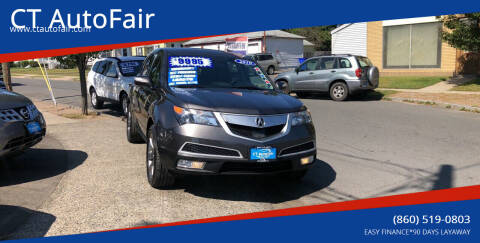 2010 Acura MDX for sale at CT AutoFair in West Hartford CT