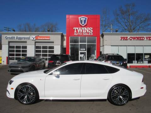 2016 Audi A7 for sale at Twins Auto Sales Inc in Detroit MI