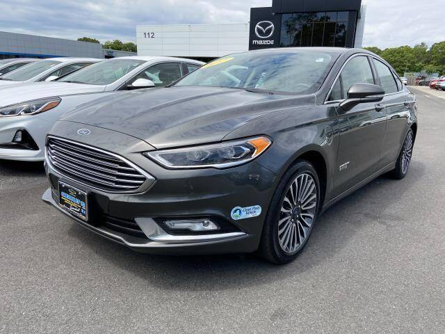 2017 Ford Fusion Energi for sale in Medford, NY