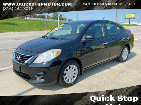 2014 Nissan Versa for sale at Quick Stop Motors in Kansas City MO