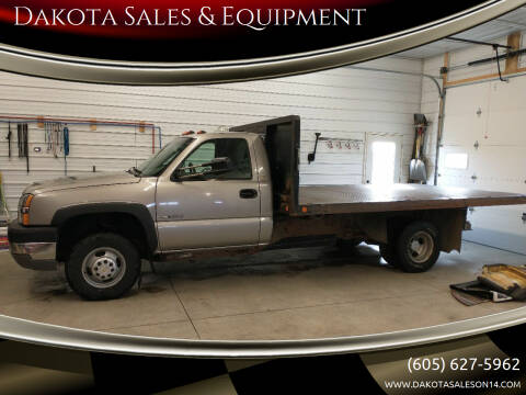 2003 Chevrolet Silverado 3500 for sale at Dakota Sales & Equipment in Arlington SD