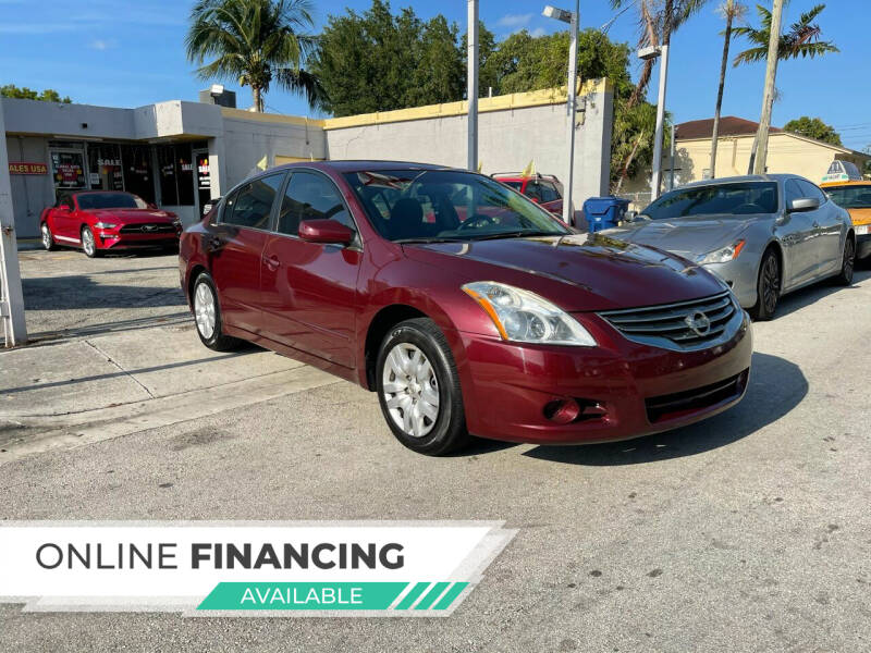 2012 Nissan Altima for sale at Global Auto Sales USA in Miami FL