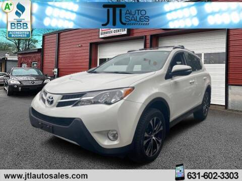 2015 Toyota RAV4 for sale at JTL Auto Inc in Selden NY
