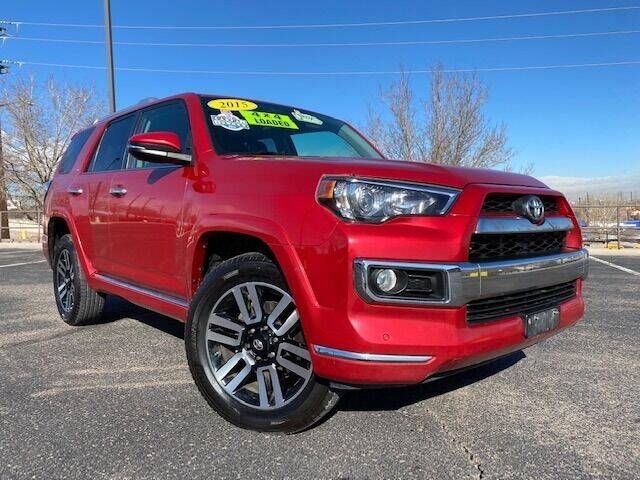 2015 Toyota 4Runner for sale at UNITED Automotive in Denver CO