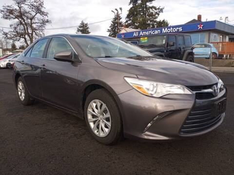 2015 Toyota Camry for sale at All American Motors in Tacoma WA