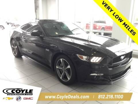 2016 Ford Mustang for sale at COYLE GM - COYLE NISSAN in Clarksville IN