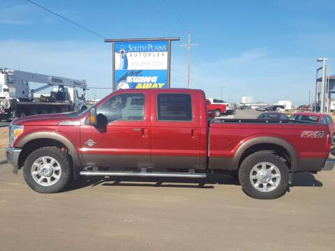 2016 Ford F-250 Super Duty for sale at South Plains Autoplex by RANDY BUCHANAN in Lubbock TX