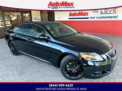 2006 Lexus GS 300 for sale at Auto Max in Hollywood FL