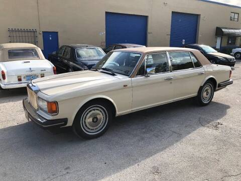 1991 Rolls-Royce Silver Spur for sale at Prestigious Euro Cars in Fort Lauderdale FL