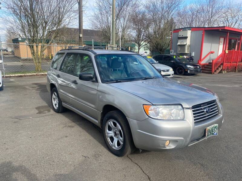 2006 Subaru Forester for sale at Blue Line Auto Group in Portland OR