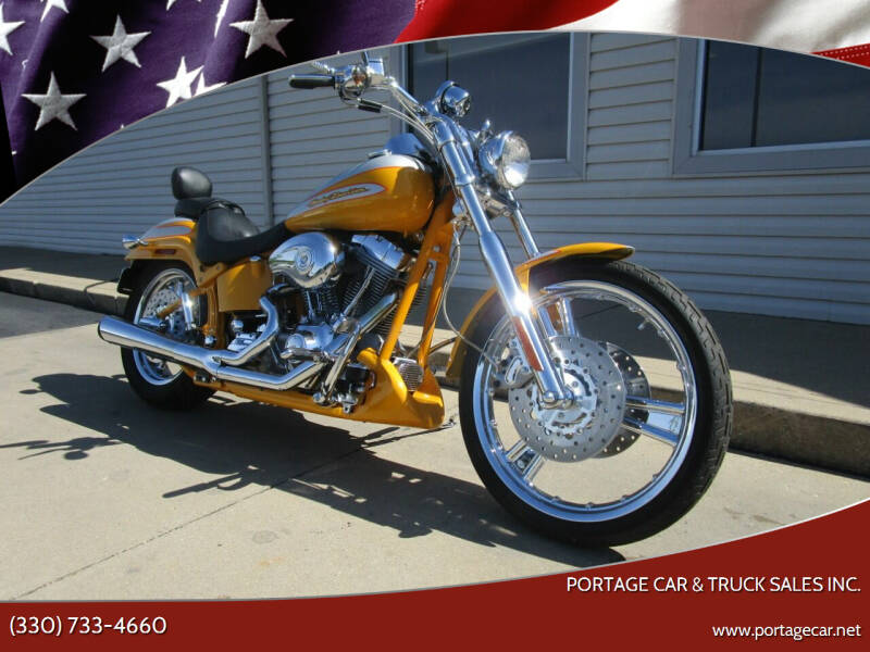2004 HARLEY DAVIDSON FXSTDSE2 for sale at Portage Car & Truck Sales Inc. in Akron OH