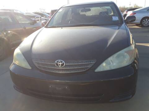 2004 Toyota Camry for sale at Auto Haus Imports in Grand Prairie TX