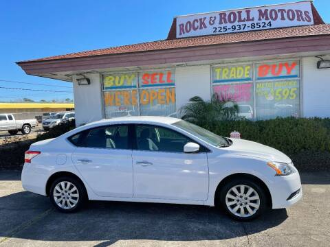 2015 Nissan Sentra for sale at Rock & Roll Motors in Baton Rouge LA