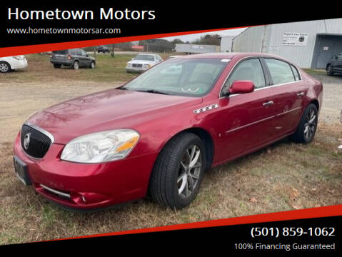 2006 Buick Lucerne for sale at Hometown Motors in Jacksonville AR