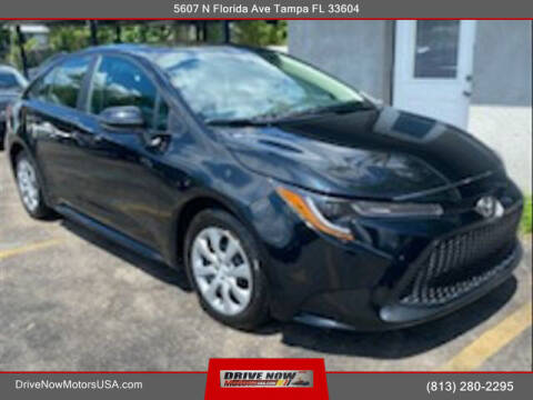 2021 Toyota Corolla for sale at Drive Now Motors USA in Tampa FL