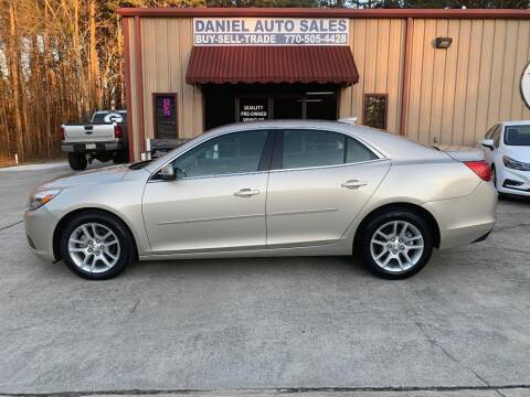 2015 Chevrolet Malibu for sale at Daniel Used Auto Sales in Dallas GA